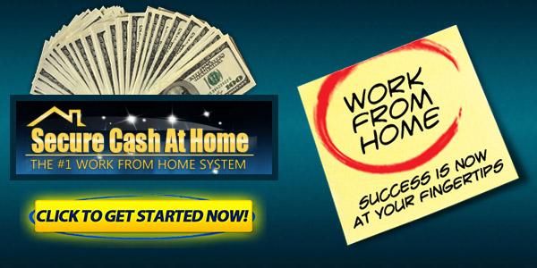 Secure Cash At Home Internet Marketing