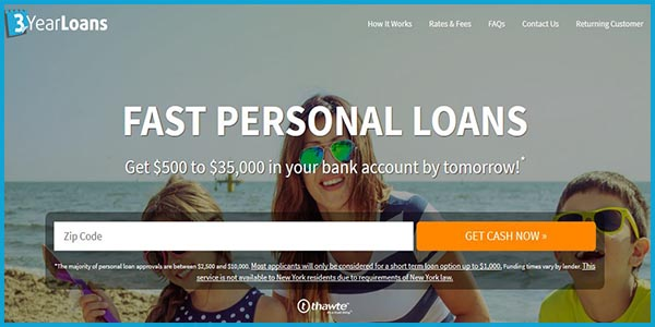 3 Year Loans Work